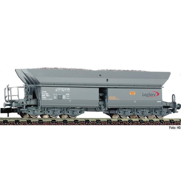 Fleischmann 852705 - Self unloading hopper wagon type Faalns Logserv