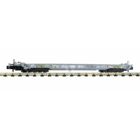 Fleischmann 827008 - 8-axle low-floor wagon for the transportation of lorries and semitrailers HUPAC