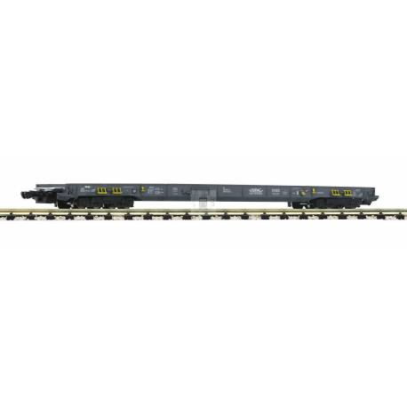 Fleischmann 827107 - 8-axle low-floor wagon for the transportation of lorries and semitrailers HUPAC