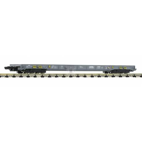 Fleischmann 827108 - 8-axle low-floor wagon for the transportation of lorries and semitrailers HUPAC