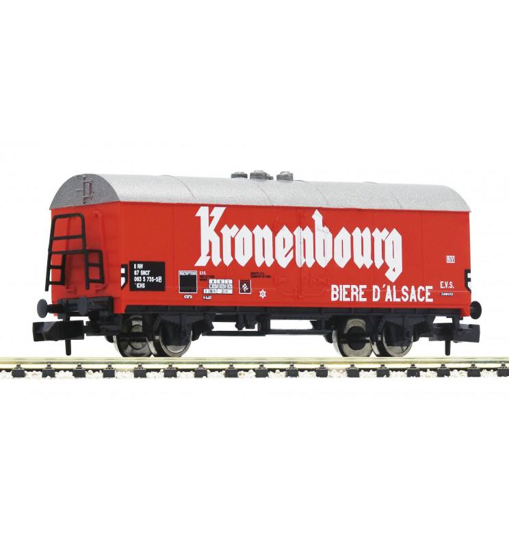 """Fleischmann 832601 - Beer wagon """"Kronenbourg"""" SNCF"""