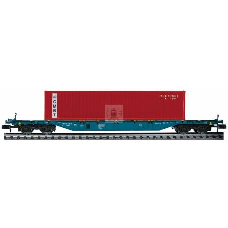 Fleischmann 825212 - Container carrier wagon type Sgns