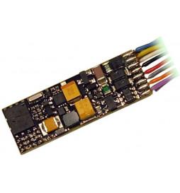 Dekoder jazdy i dźwięku MX646 (1,1W) DCC 11-kabli