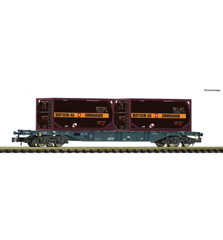 Fleischmann 825213 - Container carrier wagon type Sgns Cemat