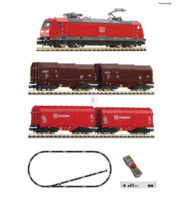 Fleischmann 931885 - z21®start Digital starter set with electric locomotive class 185.1 and goods train DB AG