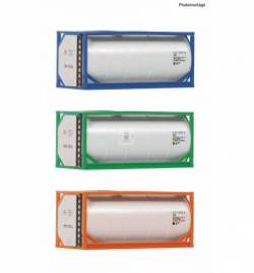 Fleischmann 910120 - 3 piece set: 20' tank containers