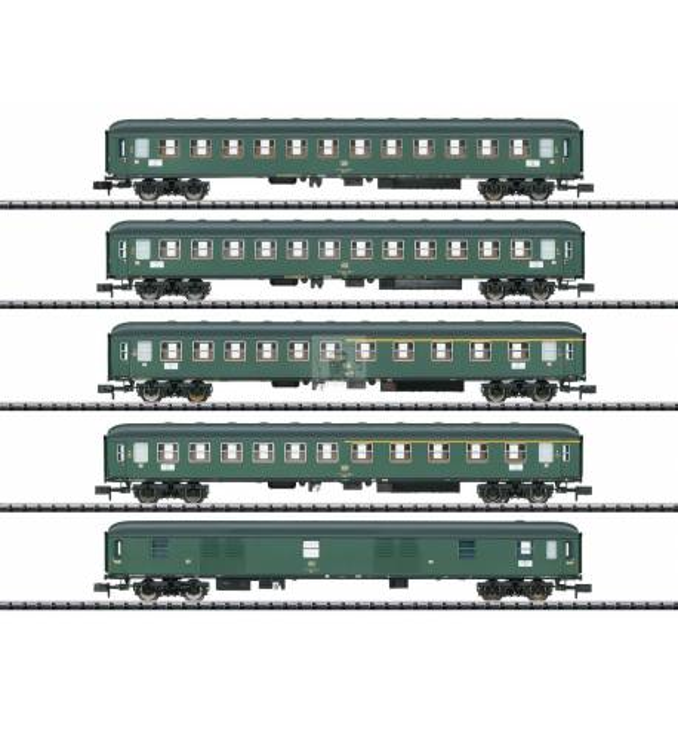 Trix 15219 - D 360 Express Train Passenger Car Set