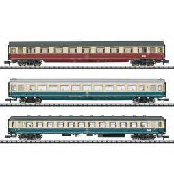 Trix 15460 - IC 611 Gutenberg Express Train Passenger Car Set