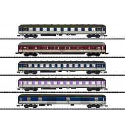 Trix 15473 - D 730 Express Train Passenger Car Set