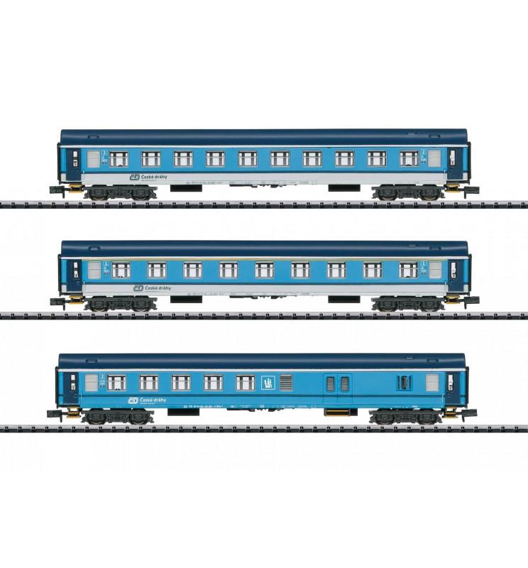 Trix 15935 - Type UIC Y Express Train Passenger Car Set