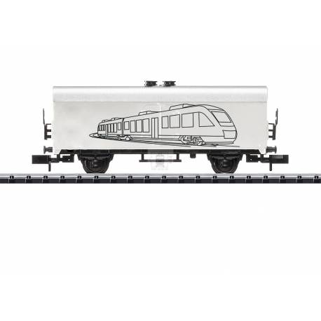 Trix 18086 - Hobby Refrigerator Car for Do-Yourself-Painting