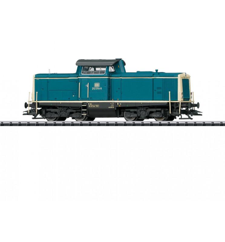 Trix 22827 - Lokomotywa spalinowa BR 212 DB, DCC z dźwiękiem