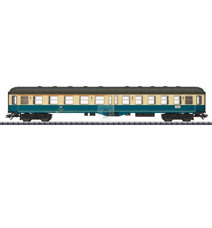 Trix 23125 - Wagon pasażerski 1/2kl ABym(b)411 DB z oświetleniem