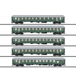 Trix 23132 - D96 Isar-Rhône Express Train Passenger Car Set 1