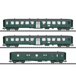 Trix 23133 - D96 Isar-Rhône Express Train Passenger Car Set 2