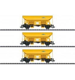 Trix 24168 - Zestaw wagonów samowyładowczych