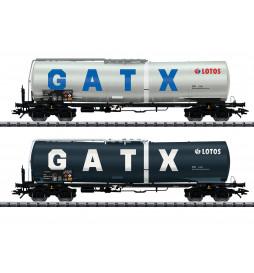 Trix 24213 - Zestaw 2 cystern GATX / Lotos