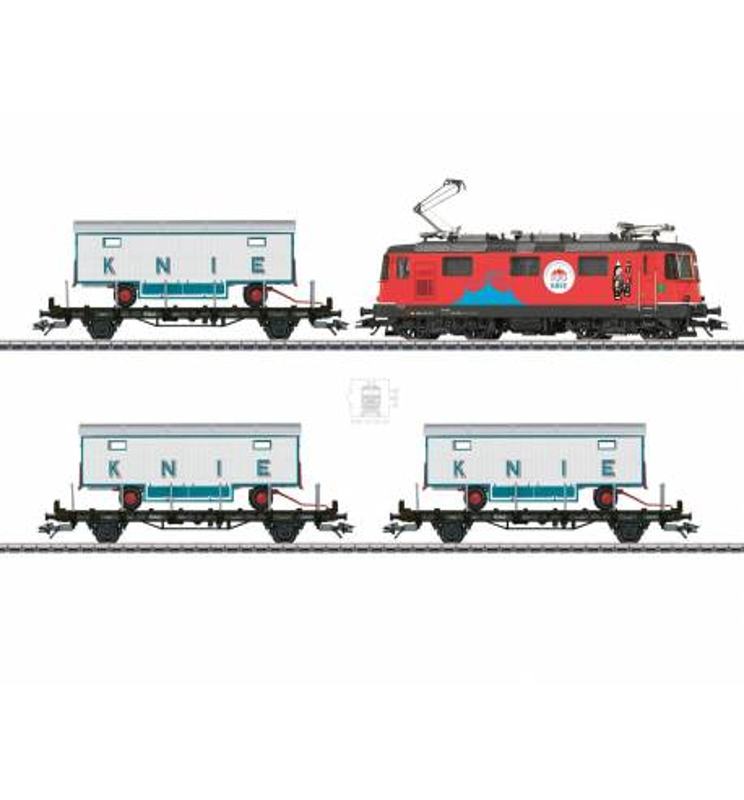 Marklin 026615 - 100 Years of the Swiss National Circus Knie Train Set