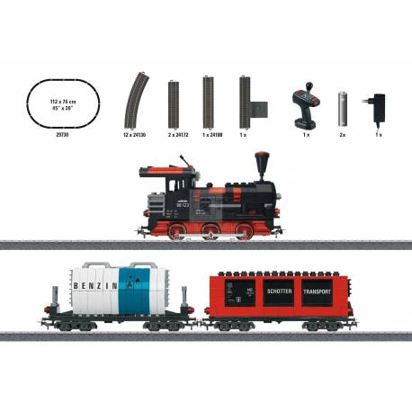 "Marklin 029730 - Märklin Start up - ""Building Block Train"" Starter Set with Sound and Light Building Blocks. 230 Volts"