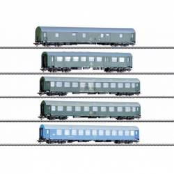 Marklin 042982 - GDR German State Railroad Passenger Car Set