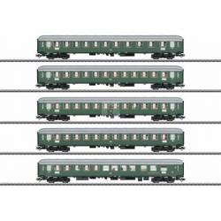 Marklin 043935 - D96 Isar-Rhône Express Train Passenger Car Set 1