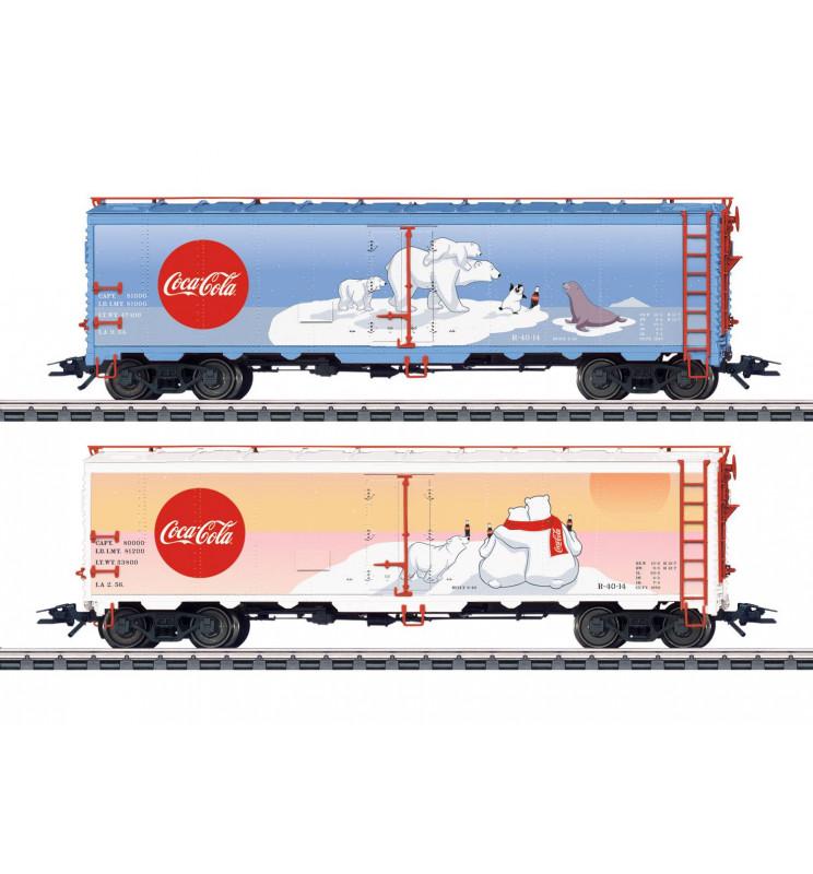 Marklin 045687 - Coca Cola® Freight Car Set