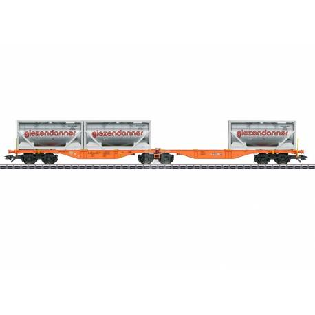 Marklin 047805 - Type Sggrss Double Container Transport Car