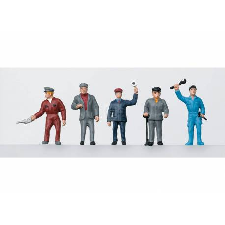 Marklin 056405 - Railroad Workers Group of Figures
