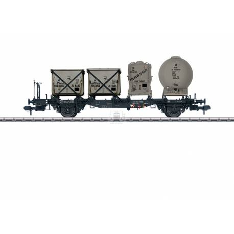Marklin 058557 - Type Lbs 584 Container Transport Car