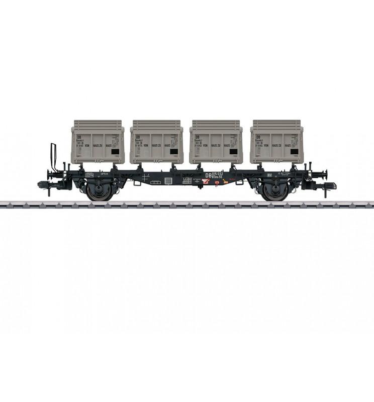 Marklin 058558 - Type BTms 55 Container Transport Car