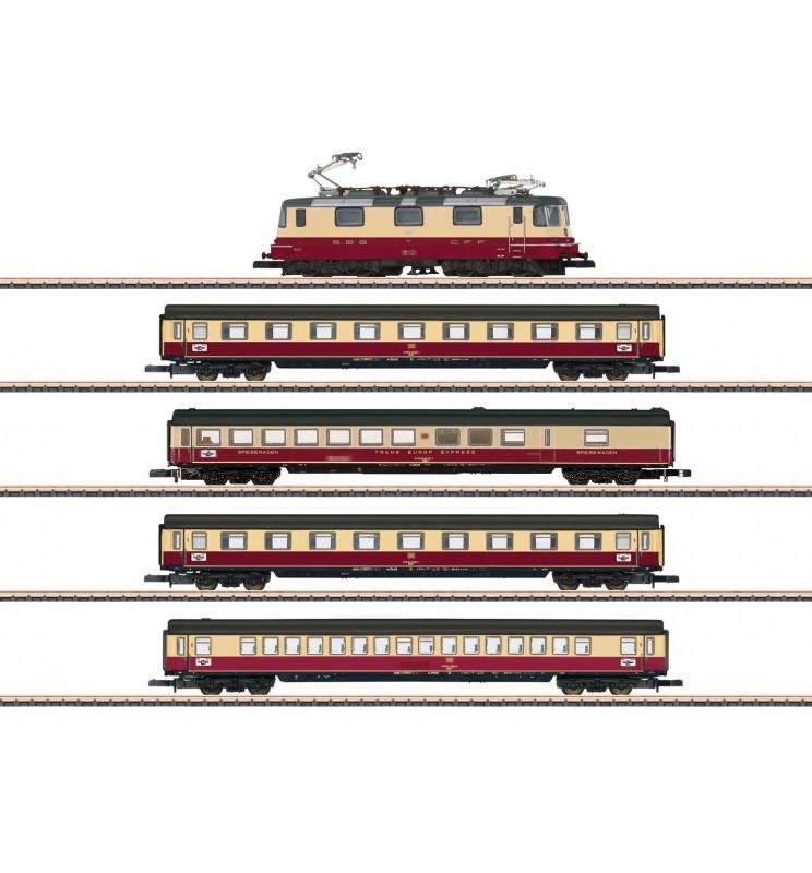 "Marklin 081593 - TEE 75 ""Roland"" Train Set"
