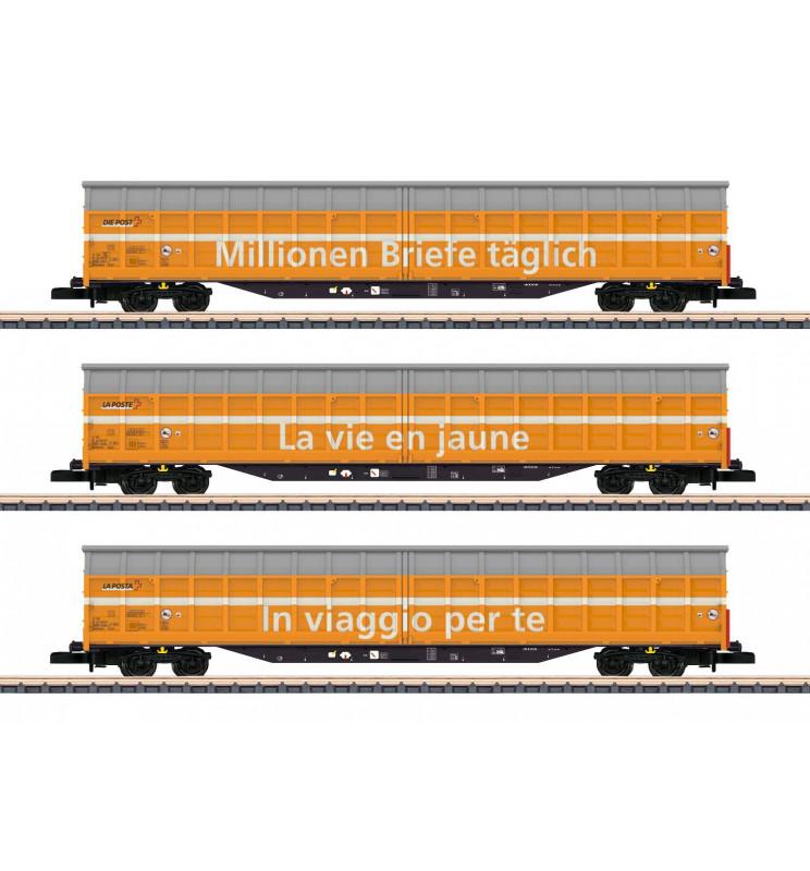 Marklin 082417 - Sliding Wall Boxcar Set