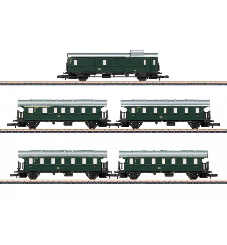 Marklin 087507 - Höllentalbahn Passenger Car Set