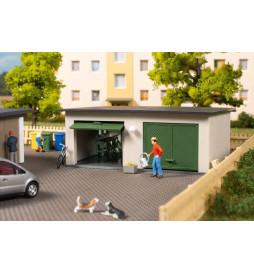 Auhagen 11456 - Garaż podwójny