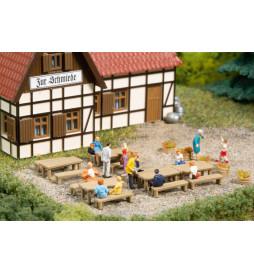 Auhagen 44650 - Ławki, stoły, skala N