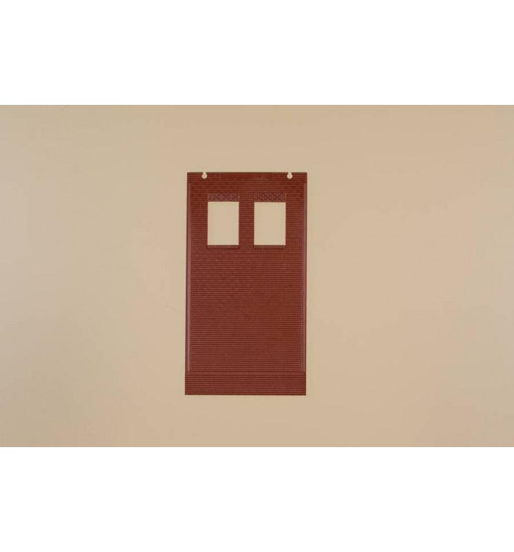 Auhagen 80531 - Ściany 2579B czerwone