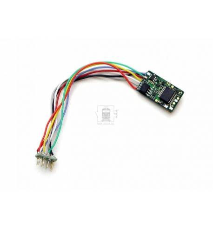 Uhlenbrock 76425 - Dekoder jazdy i oświetlenia Multiprotokoll DCC 8-pin z przewodami