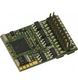 Dekoder jazdy i oświetlenia Zimo MX637P22 DCC PluX 22-pin