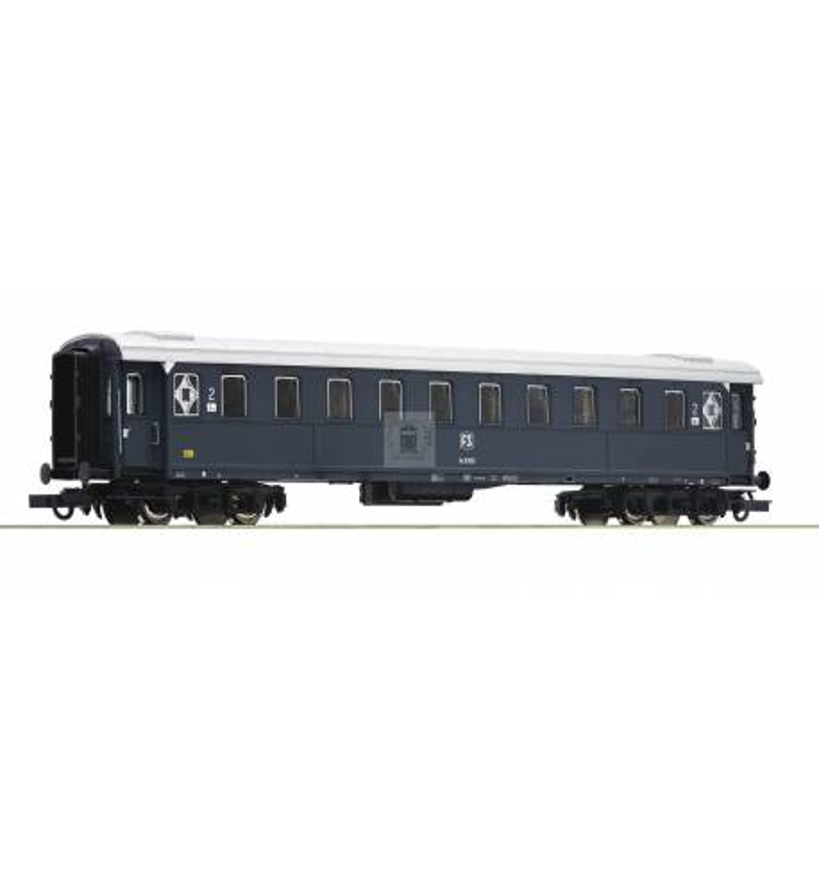 Roco 74603 - Wagon pasażerski 2 klasy FS