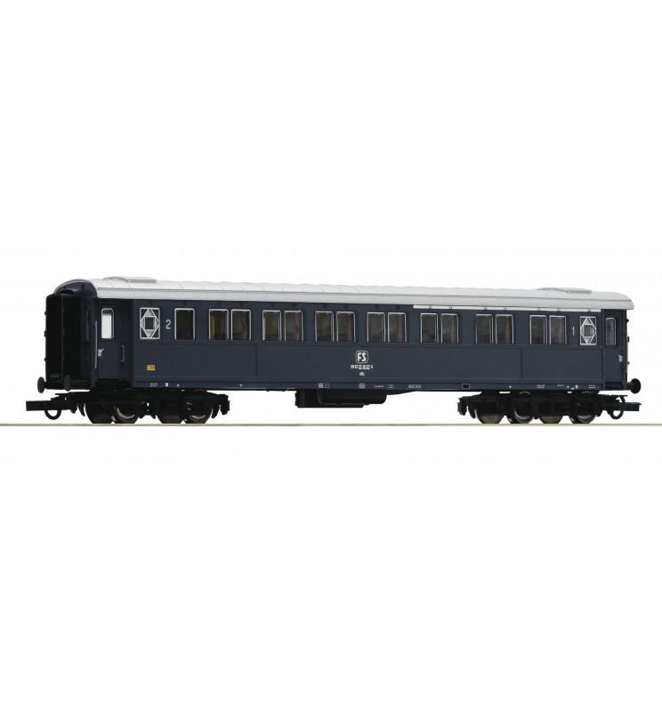 Roco 74601 - Wagon pasażerski 1/2 kl FS