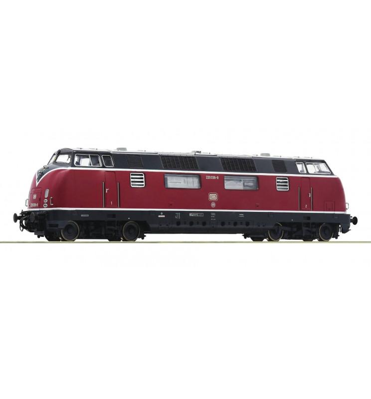 Roco 52680 - Lokomotywa spalinowa 220 036-8 DB