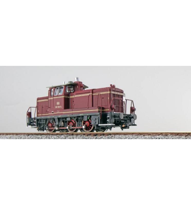 ESU 31414 - Lok. spalinowa V60 180, DB, Ep IV, LokSnd 5.0, Generator dymu, elektr. sprzęgi, Skala H0, DC/AC