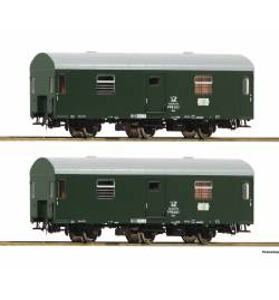 Roco 74111 - Zestaw 2 wagonów pocztowych Reko,DR