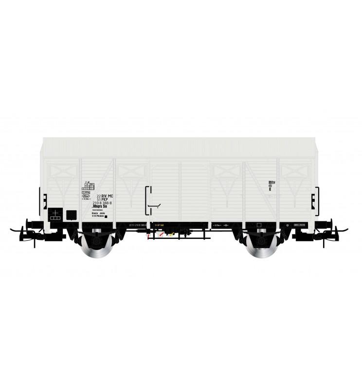 Rivarossi HR6453 - Dwuosiowy wagon chłodnia PKP serii .Hhqrs (So), ep. IV