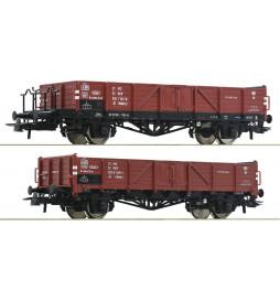Roco 76281 - Zestaw 2 wagonów węglarek PKP, ep. IV
