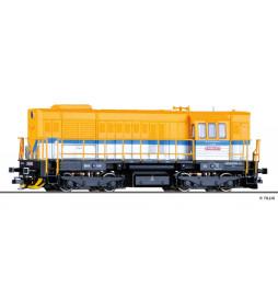 Lokomotywa spalinowa T448p-038 DB Schenker (ex. T466.2) - MTB-Model, skala TT