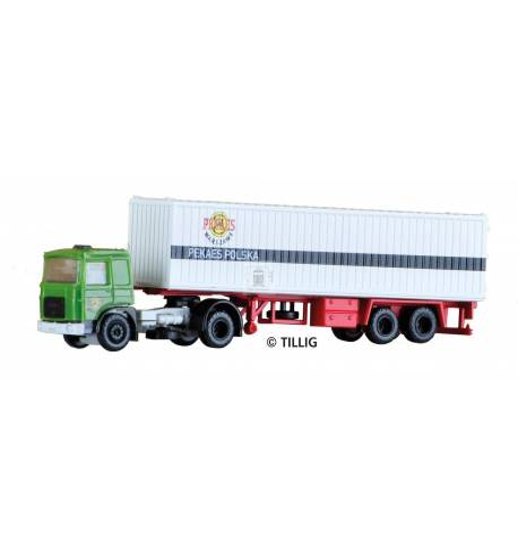 Tillig TT 08717 - Ciężarówka MAN PEKAES Polska
