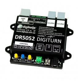 Digikeijs DR5052 - Uniwersalny cyfrowy kontroler do obrotnicy, wersja BASIC