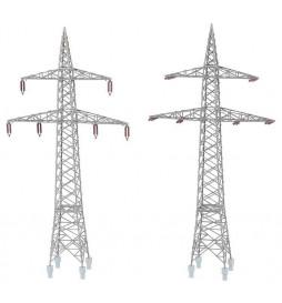 Faller 130898 - 2 słupy wysokiego napięcia (100 kV)