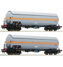 Roco 76073 - Zestaw 2 cystern do przewozu gazu Nacco